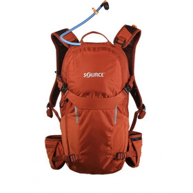 SOURCE Summit Harnais d'hydratation 15l, chili orange